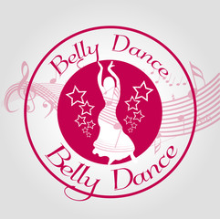stamp belly dance