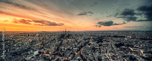 Vue panoramique de Paris - 78967676