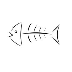 pesce stilizzato