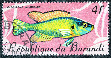 Republic of Burundi, - CIRCA 1967: