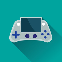 Portable Game Console Flat Icon