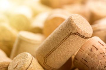 Many wine corks