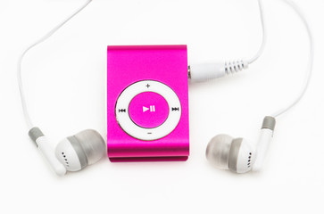 pink mp 3 player