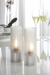 Cozy table lights for the garden party