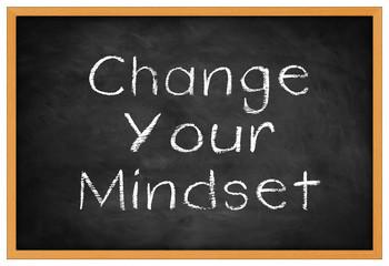 change your mindset -  background concept