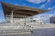 Welsh Assembly Building at Cardiff Bay, UK - 78975202