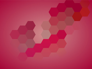 Abstract hexagonal honeycomb background