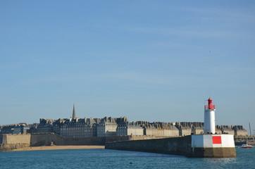 St Malo vue de mer
