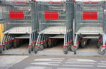 carrelli per la spesa