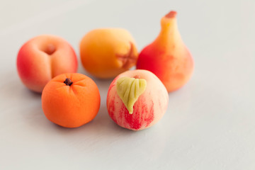 macro fruit sweets