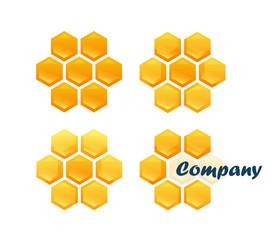 Set of Honeycombs