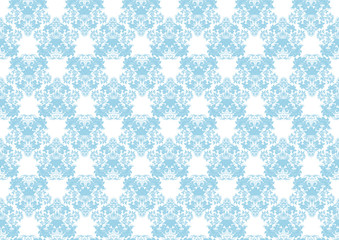 Rococo pattern