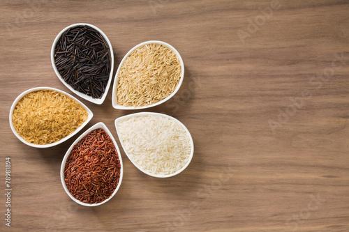 Plexiglas Granen Rice Varieties