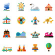 Amusement Park Icons - 78982233