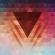 Abstract triangle future vector background - 78982834