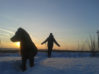 Winters walk