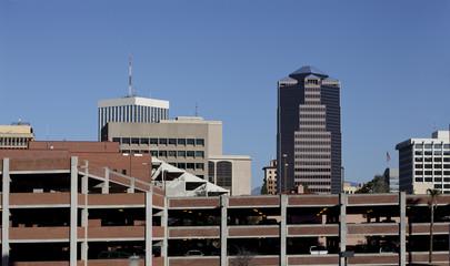 Multilevel Car Parking in Tucson Downtown, AZ
