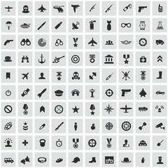 100 army icons