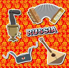 set russian icons