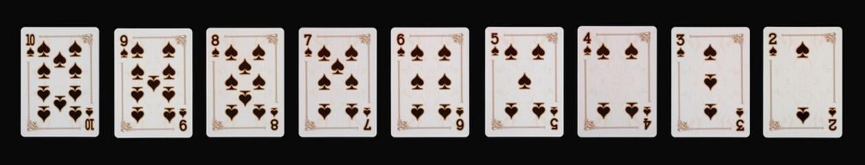 Spielkarten - Poker - PIK im Spiel