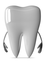 White tooth character