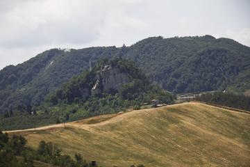 Campagna di Canossa, Panorama