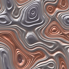 Plastic waves seamless generated texture