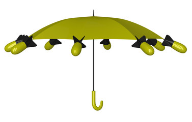 Nuclear umbrella