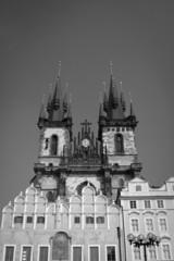 Prague through the eyes of birds