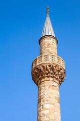 Camii mosque. Central Konak square, Izmir, Turkey