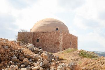 Venetian Fortezza or Citadel in Rethymno, Crete, Greece