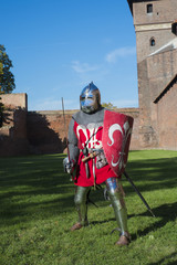 Polish Knight, Malbork Castle. Poland