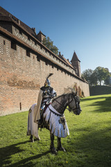 Teutonic Knight, Malbork. Poland
