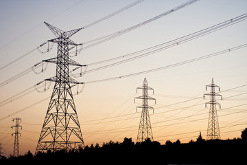 Electricity transmission pylon