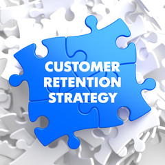 Customer Retention Strategy on Blue Puzzle.