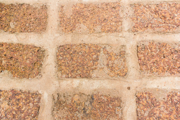 Laterite stone wall background