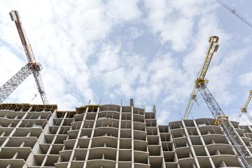 Apartments building construction