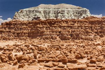 Blue Mountain Hoodoos Goblin Valley State Park Utah