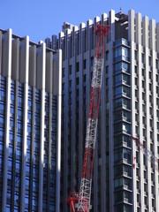 神田橋のビル工事