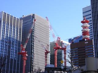 神田橋のビル工事④
