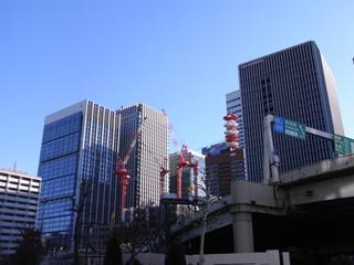 神田橋のビル工事⑤