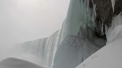 Under the Falls with Sound