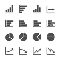 infographic and chart icon set 3, vector eps10