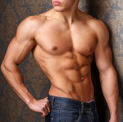 Awesome male naked torso