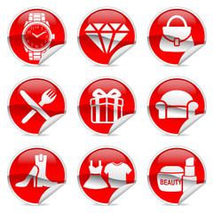 Sales Item label and sticker