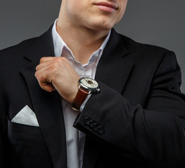 Portrait of successful business man.