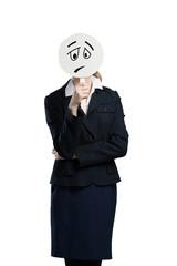Unrecognizable businesswoman