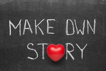 make own story