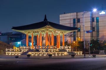 Bell Pavilion at Hwaseong Fortress