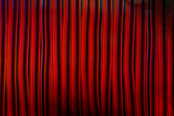 BG red curtains